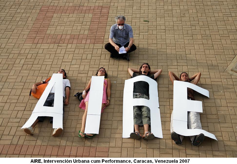 Aire, Caracas, Venezuela