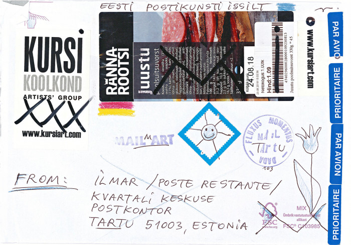 Ilmar - Poste Restante, Estonia