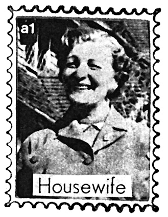 a1 michael leigh housewife stamp