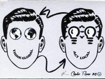 Claudio Romeo, 100% Arte Postale