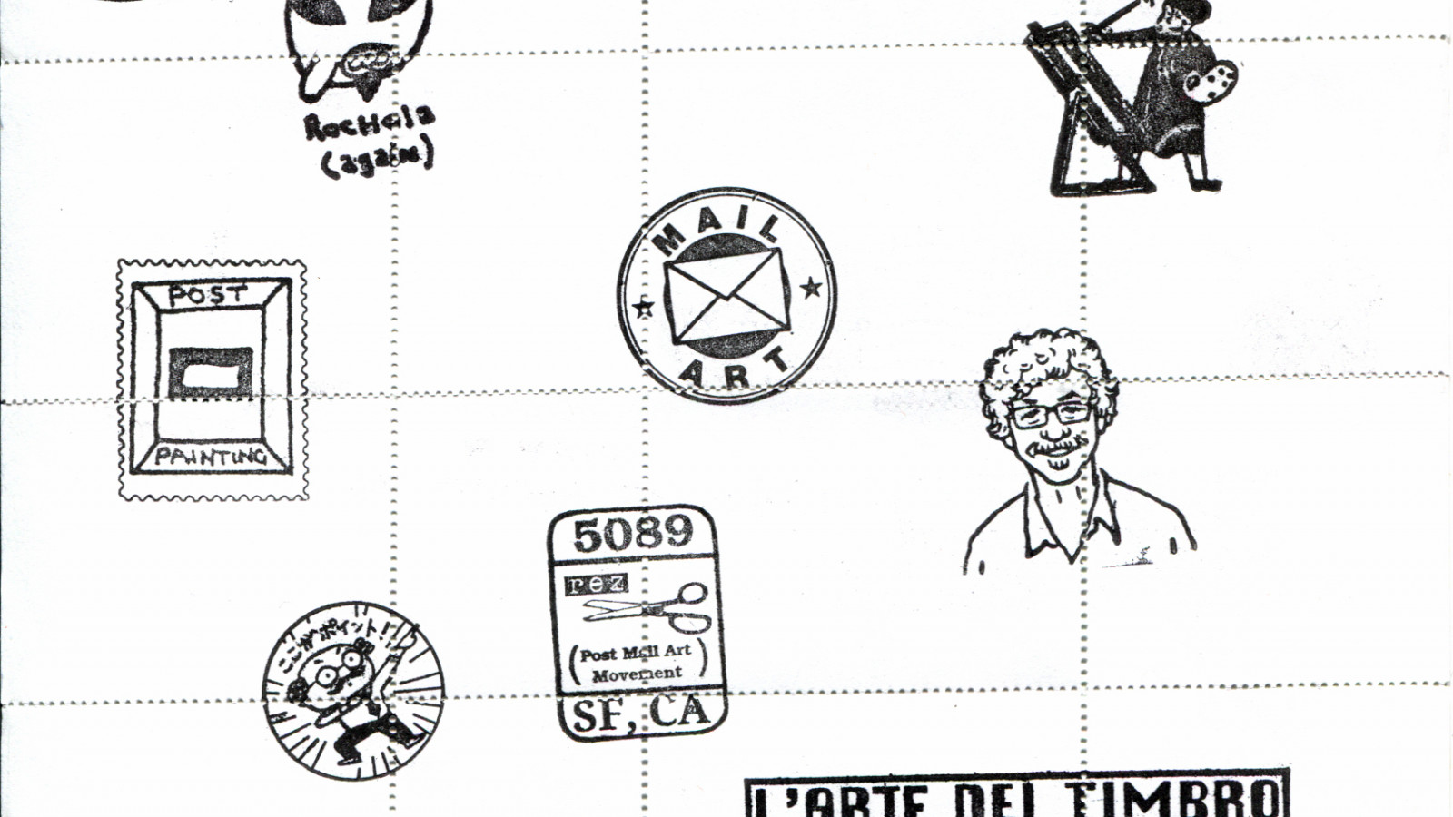 john held jr stampsheet