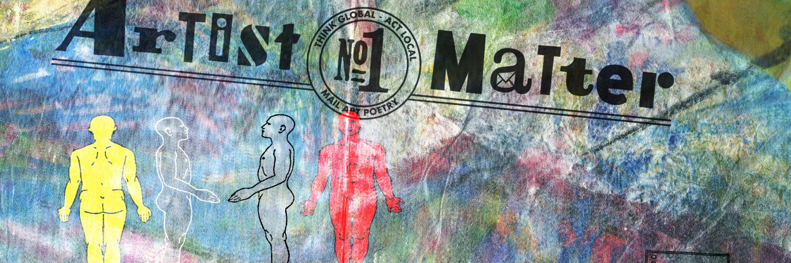 postkarte artist matter